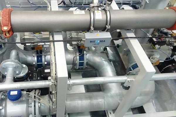 tratamiento de agua a bordo